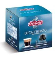 Carraro Капсули кафе Decaffeinato 16x7г. (съвместими с Долче Густо)