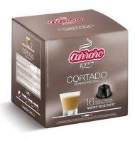 Carraro Капсули Cortado 16x7г. (съвместими с Долче Густо)