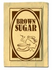 Кафява захар 150бр. х  4гр.