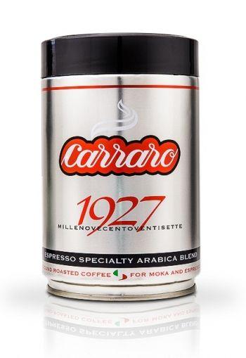 Carraro 1927 100% Арабика 250 гр. мляно