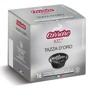 Carraro Капсули кафе Tazza d'Oro 16x7г. (съвместими с А Модо Мио)